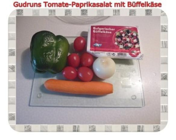 Salat: Tomate-Paprika-Salat - Rezept - Bild Nr. 2