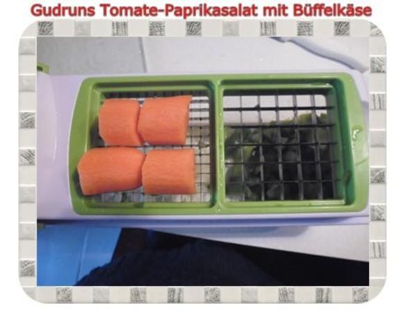 Salat: Tomate-Paprika-Salat - Rezept - Bild Nr. 4