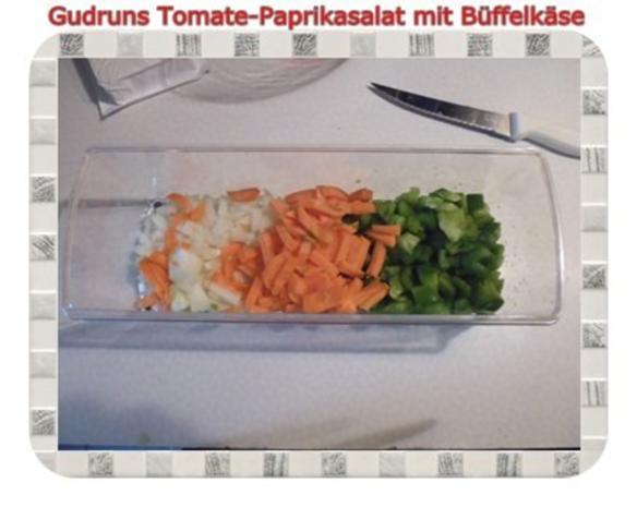 Salat: Tomate-Paprika-Salat - Rezept - Bild Nr. 5