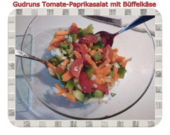 Salat: Tomate-Paprika-Salat - Rezept - Bild Nr. 6