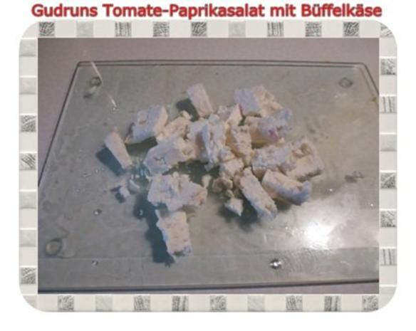 Salat: Tomate-Paprika-Salat - Rezept - Bild Nr. 8
