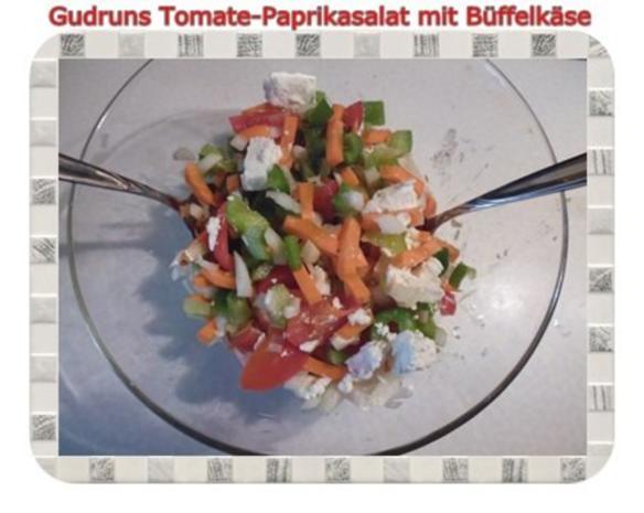 Salat: Tomate-Paprika-Salat - Rezept - Bild Nr. 9