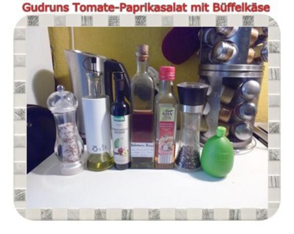 Salat: Tomate-Paprika-Salat - Rezept - Bild Nr. 10