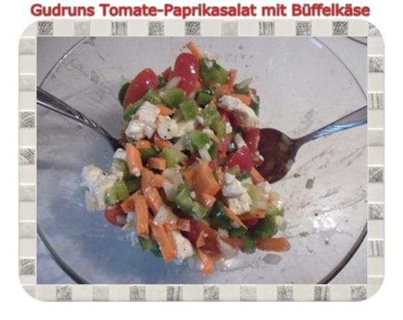 Salat: Tomate-Paprika-Salat - Rezept - Bild Nr. 12