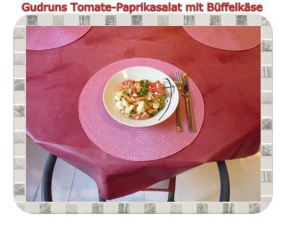 Salat: Tomate-Paprika-Salat - Rezept - Bild Nr. 13