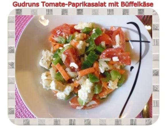 Salat: Tomate-Paprika-Salat - Rezept - Bild Nr. 14