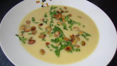 Petersilien-Lauch Suppe - Rezept