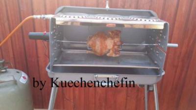 Rezept: Hähnchen vom Grill