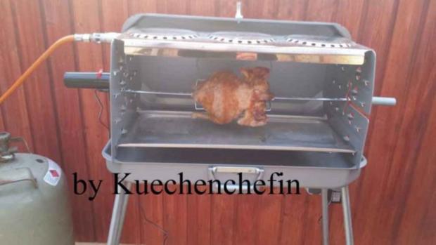 Hähnchen vom Grill - Rezept
