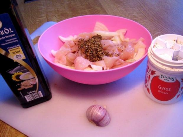 Geschnetzelte Hähnchenbrust im Lauchgemüse - Rezept - Bild Nr. 2