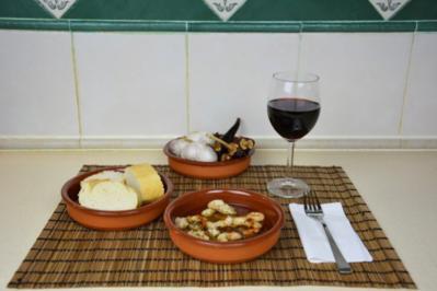 Rezept: Gambas al Ajillo - spanische Knoblauch Garnelen