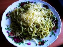 Knoblauch Spagetti - Rezept