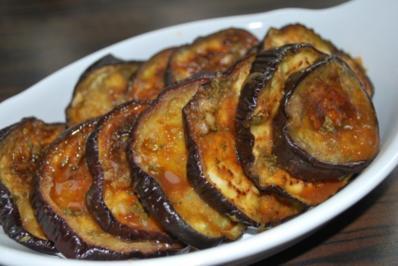 Rezept: Eingelegte Auberginen - spanisch-orientalisch angehaucht