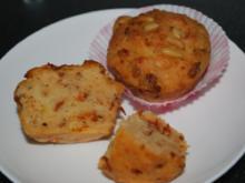 Tomaten-Parmesan-Muffins - Rezept