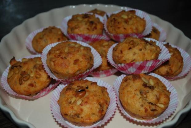 Tomaten-Parmesan-Muffins - Rezept - Bild Nr. 2