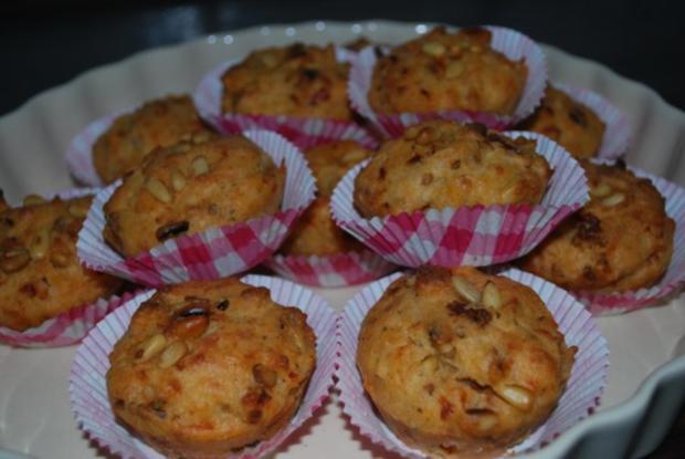 Tomaten-Parmesan-Muffins - Rezept - Bild Nr. 3
