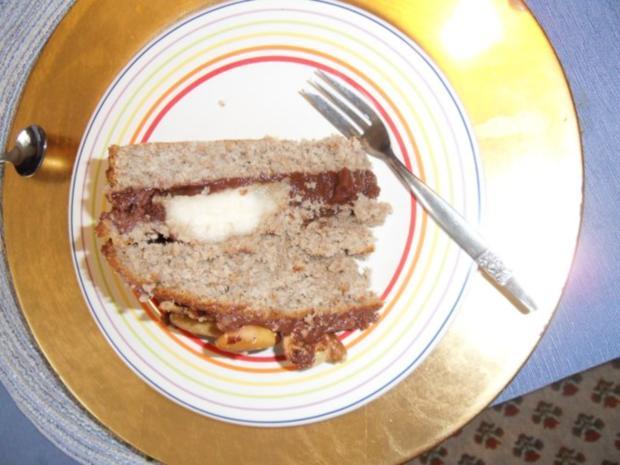 Bananen-Birnen-Schoko-Torte - Rezept - Bild Nr. 2