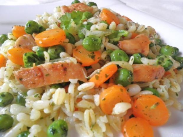 Ebly - Hähnchen - Gemüse - Pfanne ... - Rezept - Bild Nr. 11