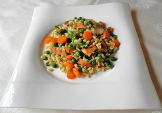 Ebly - Hähnchen - Gemüse - Pfanne ... - Rezept - Bild Nr. 12