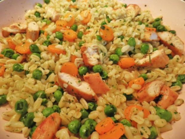 Ebly - Hähnchen - Gemüse - Pfanne ... - Rezept - Bild Nr. 10
