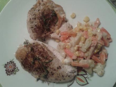 Hühnerfilets mit Gemüse - Rezept