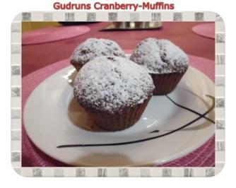 Muffins: Cranberry-Muffins - Rezept