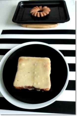 """""""Wurst-Blume""""  auf  Cheddar-Käse-Sandwich - Rezept - Bild Nr. 18"""