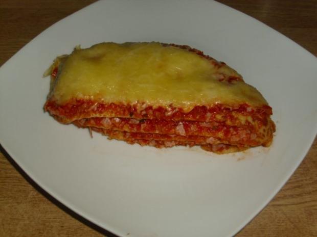 schnelle Pfannkuchen Lasagne - Rezept - Bild Nr. 2