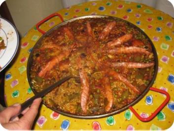 Paella Valenciana - Rezept