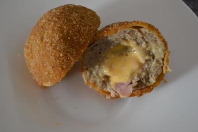 Cordon Bleu Meatballs - Rezept