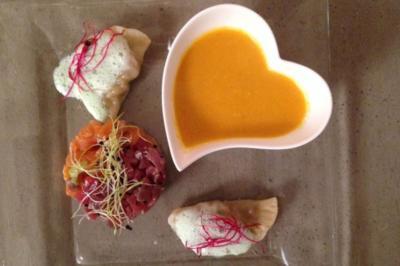 Dreierlei asiatische Köstlichkeiten - Rezept
