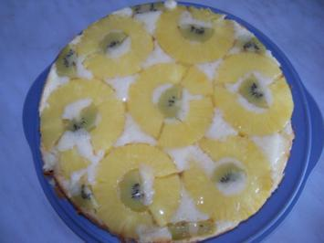 Rezept: Amerikanische Ananastorte