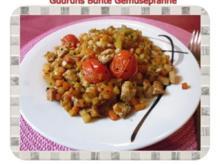 Gemüse: Bunte Gemüsepfanne - Rezept