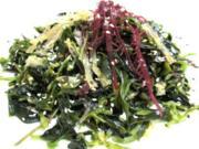 Seealgen Salat - Rezept