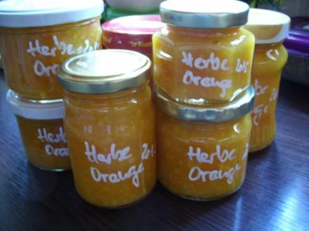 Konfitüre & Co:  Herbe Orange - Rezept