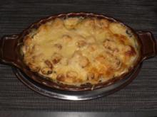 Champignon-Lasagne   für 2 Personen - Rezept