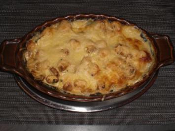Rezept: Champignon-Lasagne   für 2 Personen