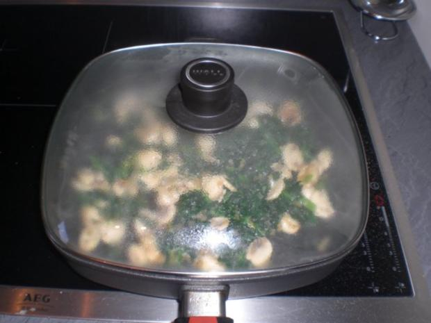 Champignon-Lasagne   für 2 Personen - Rezept - Bild Nr. 8