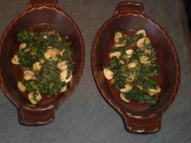 Champignon-Lasagne   für 2 Personen - Rezept - Bild Nr. 9
