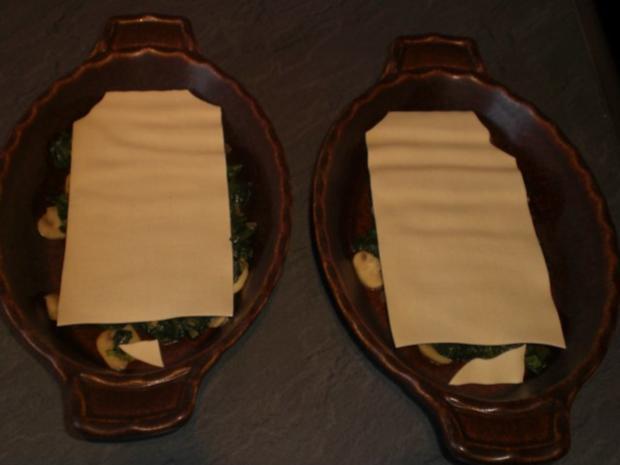 Champignon-Lasagne   für 2 Personen - Rezept - Bild Nr. 10