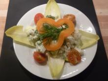 Broccoli - Blumenkohl Salat an JoghurtSauce - Rezept