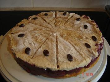 Rezept: Kirsch-Cappucino-Torte