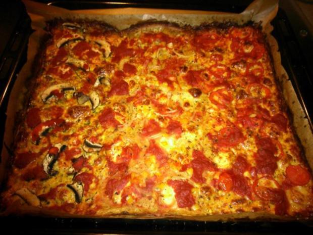 LOW CARB  Pizza-Drio - Rezept - Bild Nr. 4