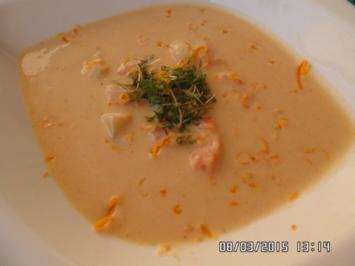 Möhrencreme-Suppe - Rezept