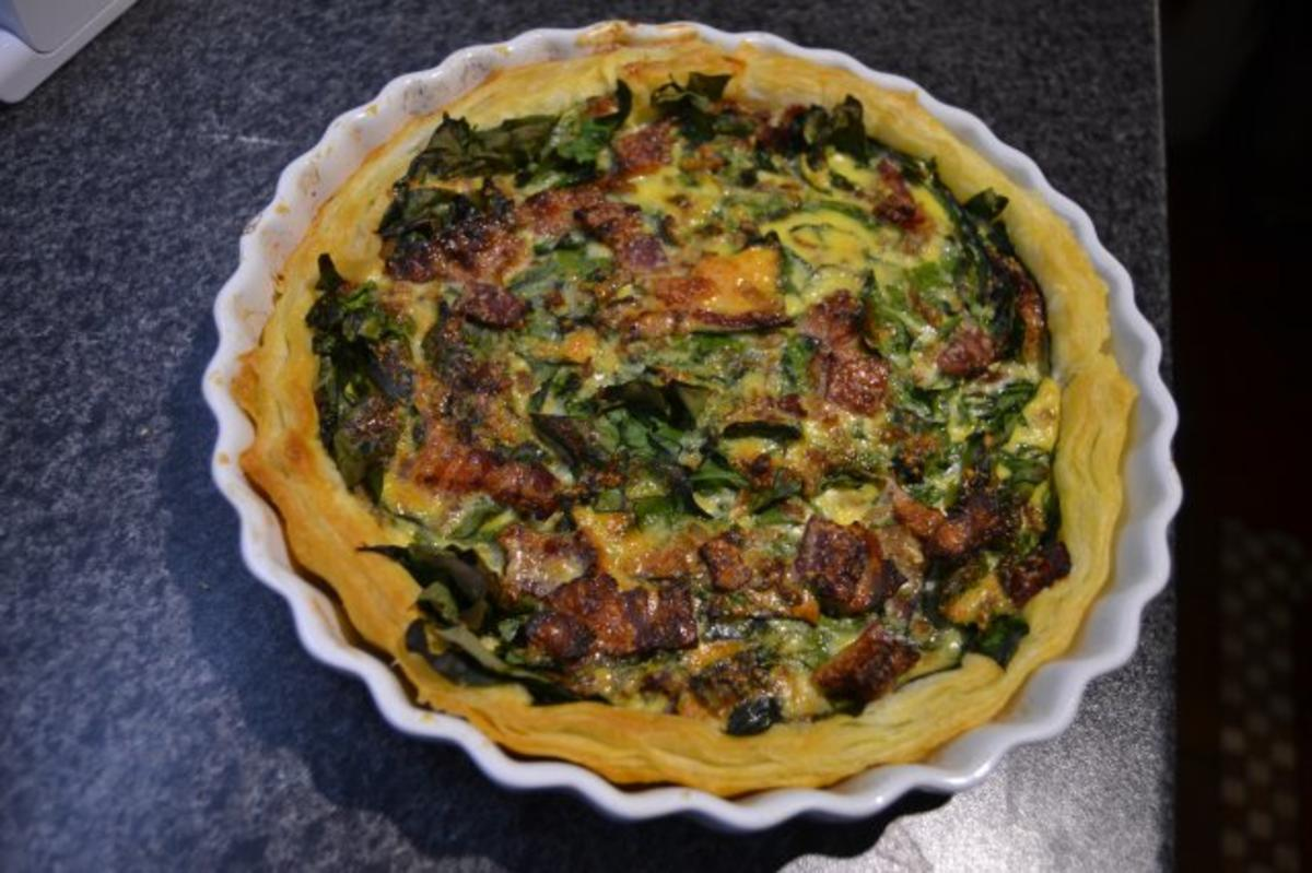 Quiche Rezept Spinat