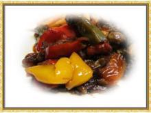 Paprika Gemüse - Rezept