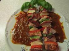 Fleischspieße - auch für den Grill geeignet - Rezept