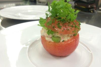 Gefüllte Tomate (Christian Lohse) - Rezept