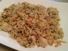 Curry-Risotto mit Hähnchenbrust - Rezept
