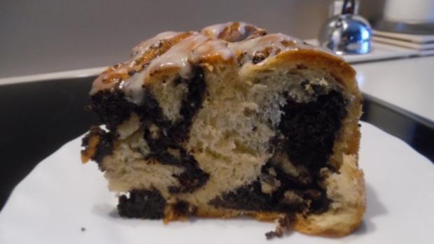 Mohn-Schnecken-Kuchen - Rezept